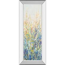"""Wildflower Panel I"" By Tim Otoole Mirror Framed Print Wall Art"
