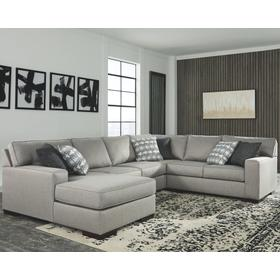 See Details - Marsing Nuvella 4-piece Sectional With Chaise