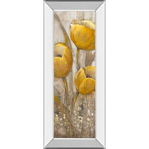 """Ochre Tulips Il"" By Tim Otoole Mirror Framed Print Wall Art"