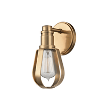 See Details - Wall Sconce - AGED BRASS