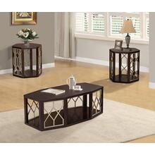 Isabel 3pc Coffee Table Set