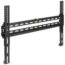 """See Details - FLASH MOUNT Fixed TV Wall Mount with Built-In Level - Max VESA Size 600 x 400mm - Fits most TV's 32""""- 84"""" (Weight Capacity 120LB)"""