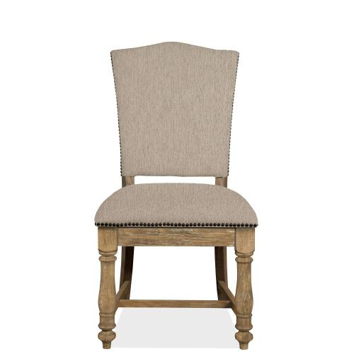 Sonora - Upholstered Side Chair - Snowy Desert Finish