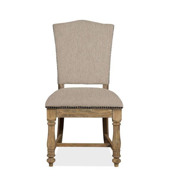 Riverside - Sonora - Upholstered Side Chair - Snowy Desert Finish