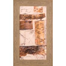 Birch Bark Abstract Ii- Embelished