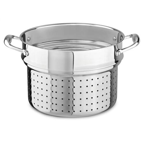 18/10 Stainless Steel Pasta Insert - Stainless Look