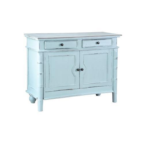 CC-CAB1296TLD-SBLW  Beach Blue Cabinet  Buffet  Sideboard