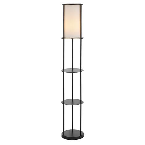 Hayes Iron Floor Lamp - Black
