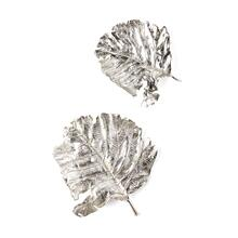 NK Kiso Aluminum Leaf Wall Decor - Set of 2