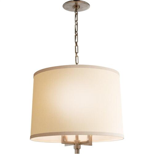 Visual Comfort BBL5030PWT-L Barbara Barry Westport 4 Light 23 inch Pewter Finish Hanging Shade Ceiling Light