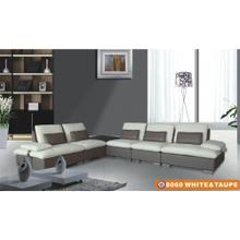 8060 White & Taupe