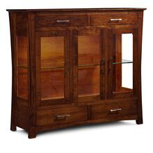 See Details - Loft Dining Cabinet, 2-Door / Glass Doors and Ends