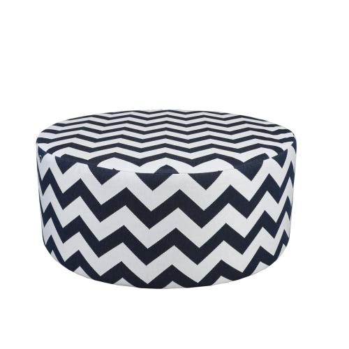 """Outdoor Furniture Cushions & Outdoor Pillows : 42"""" Round Pouf"""