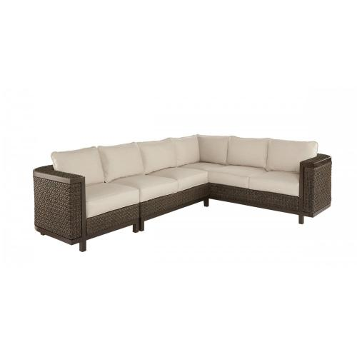 Epicenters Brentwood Outdoor Wicker Armless Loveseat