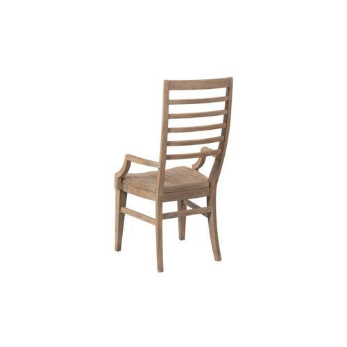 Canton Ladder Back Arm Chair