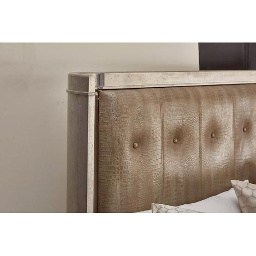 A.R.T. Furniture - Morrissey California King Lloyd Upholstered Shelter Bed Bezel