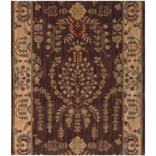 Grand Parterre Sarouk Pt02 Brown Runner