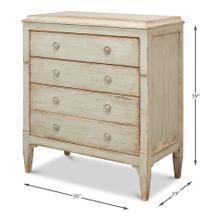 See Details - Landry Three Drawer Commode, Sage