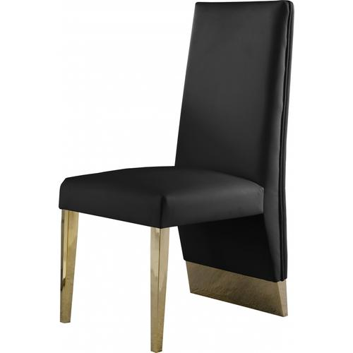 """Porsha Faux Leather Dining Chair - 19.5"""" W x 27"""" D x 42"""" H"""