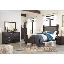 View Product - Queen Poster Bed With Dresser