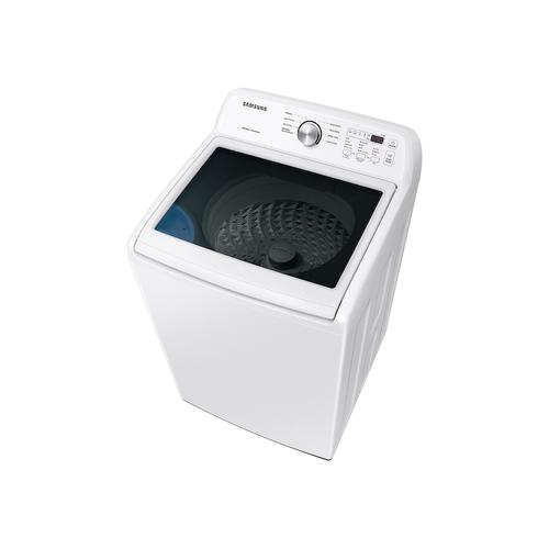 4.4 cu. ft. Top Load Washer with ActiveWave™ Agitator and Soft-Close Lid in White