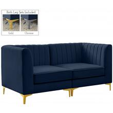 """Product Image - Alina Velvet Modular Sofa - 67"""" W x 33.5"""" D x 31"""" H"""