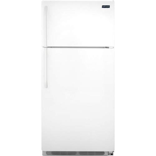 Gallery - Crosley Top Mount Refrigerator : Top Mount Refrigerator - White