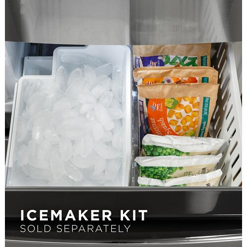 GE® 11.9 Cu. Ft. Bottom-Freezer Refrigerator