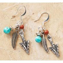 Arrowhead and Feather