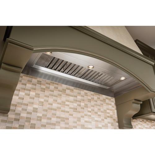 BEST Range Hoods - 48-inch Built In Power Pack Range Hood, internal 1500 Max Blower CFM, Stainless Steel (PK22 Series)