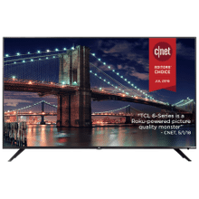 "TCL 65"" Class 6-Series 4K UHD Dolby Vision HDR Roku Smart TV - 65R617"