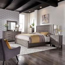 View Product - Queen Panel Bed, Dresser & Mirror, Chest, Night Stand