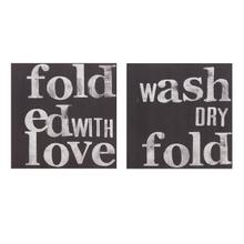 Dahl Laundry Signs - Ast 2