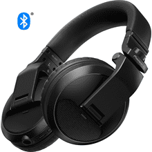 Over-ear DJ headphones with Bluetooth® wireless technology (black)