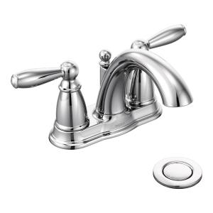 Brantford chrome two-handle bathroom faucet Product Image