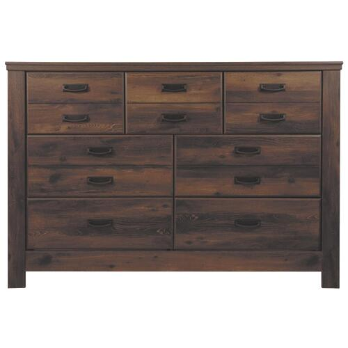 B246 Dresser Only (Quinden Dark Brown)