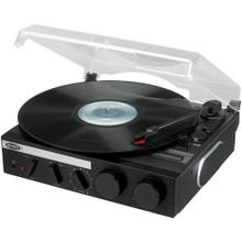 3-Speed Stereo Turntable with Built-in Speakers and Encoding to Computer