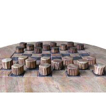 See Details - W-0872 Teak Wood Checker Set