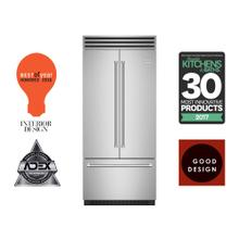 """See Details - 36"""" Built-in Refrigerator/Freezer with French Door"""