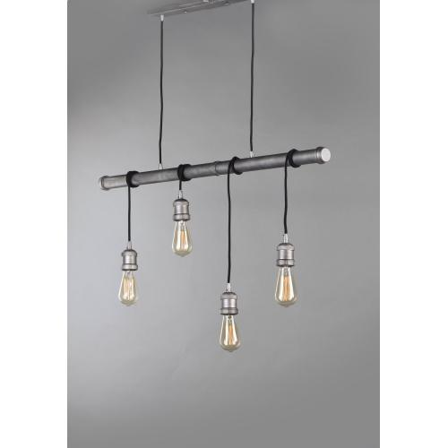 Early Electric 4-Light Pendant