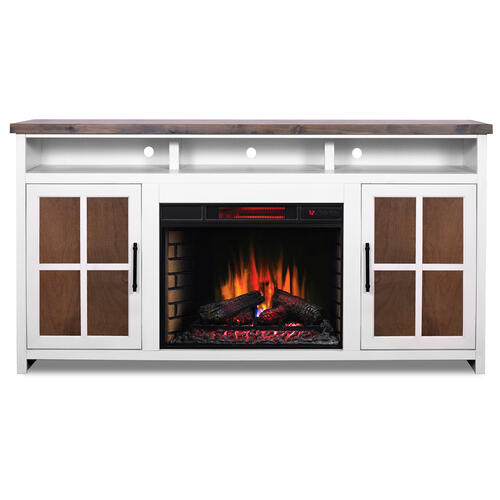 "Hampton 74"" Fireplace Console"