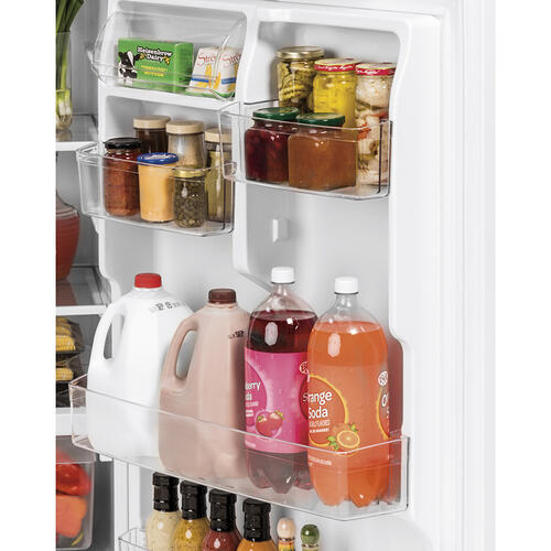 GE 19.1 Cu. Ft. Top Mount Refrigerator Stainless Steel - GTS19KSNRSS