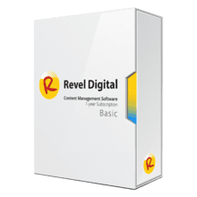 Revel Digital CMS Basic Subscription Software