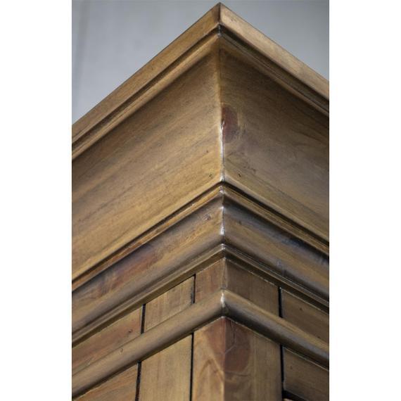 Riverside - Hawthorne - Display Cabinet - Barnwood Finish