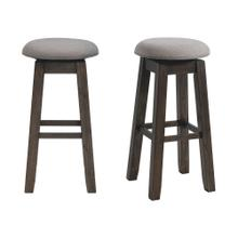"Morrison 30"" Swivel Backless Bar Stool Set"