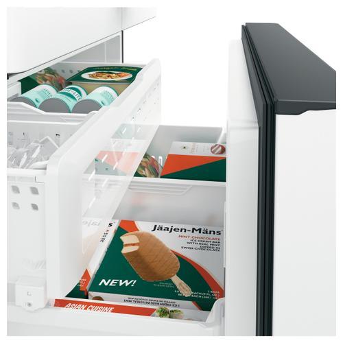 Cafe - Café™ ENERGY STAR® 23.1 Cu. Ft. Smart Counter-Depth French-Door Refrigerator