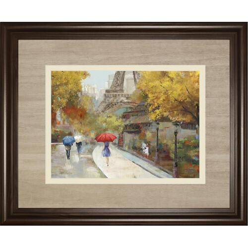 """Amant De Marche"" By Allison Pearce Framed Print Wall Art"