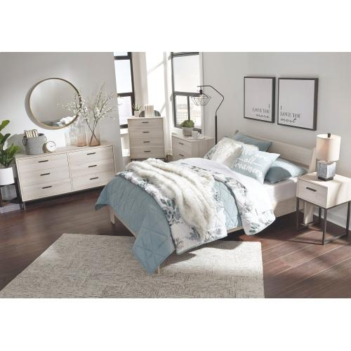 Socalle Full Panel Platform Bed