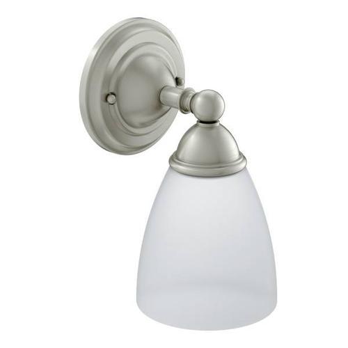 Brantford brushed nickel bath light