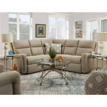 RAF Single Reclining Loveseat with Power Plus